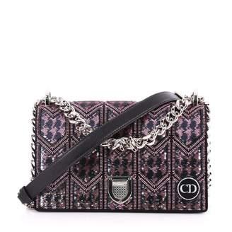 Christian Dior Diorama glitter handbag