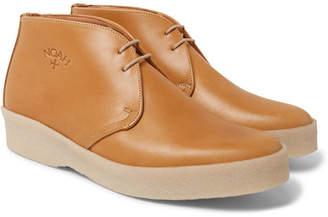 Noah Sanders Leather Desert Boots - Men - Tan