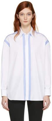 Maison Margiela White Stripe Trim Shirt