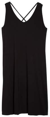 Sejour Cross Back Tank Dress