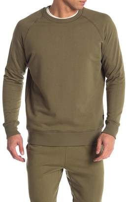 Richer Poorer Raglan Sleeve Crew Neck Pullover