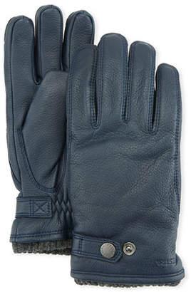 Hestra Gloves Men's Utsjo Elk Leather Snap Gloves