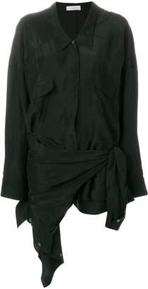 Faith Connexion asymmetric shirt dress