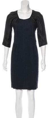Nina Ricci Textured Mini Dress