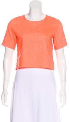Alexis Short Sleeve Crop Top