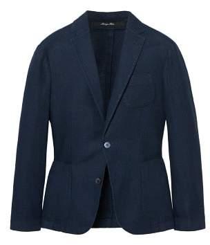 Mango man MANGO MAN Slim-fit unstructured linen blazer