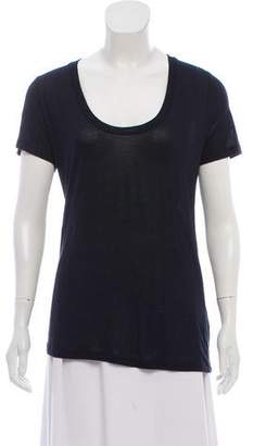 L'Agence Short Sleeve Scoop Neck Top w/ Tags