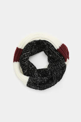 Ardene Thick Color Block Infinity Scarf