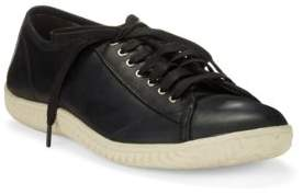 John Varvatos Hattan Leather Lace-Up Sneakers