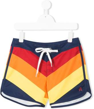 Trunks Perfect Moment Kids chevron swim shorts