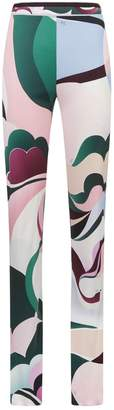 Emilio Pucci Abstract Swirl Print Trousers