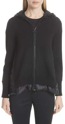 Moncler Hooded Quilted Cardigan