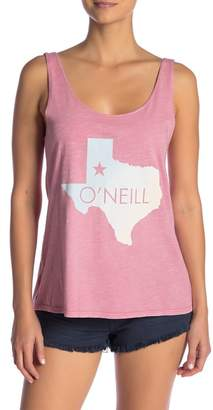 O'Neill Fader Scoop Neck Tank Top