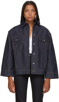 Totême Indigo Bissau Denim Jacket