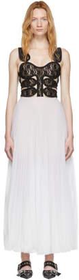 Christopher Kane Off-White Lace Corset Dress