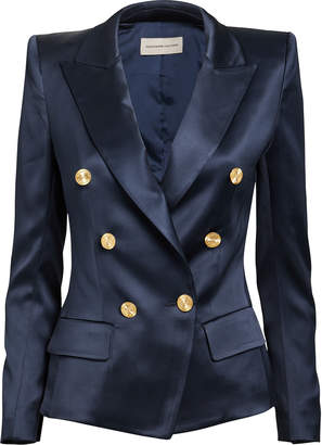 Alexandre Vauthier Navy Double-Breasted Blazer