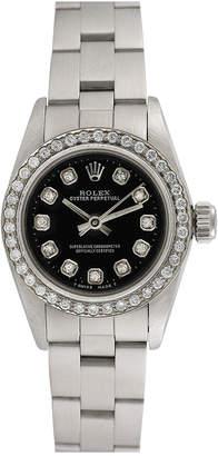 Rolex Heritage  1990S Women's Oyster Perpetual Diamond Watch
