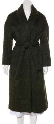 No.6 Long Sleeve Notched Collar Coat