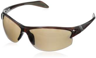 Greg Norman G4605 Polarized Sport Semi Rimless Melanin Sunglasses