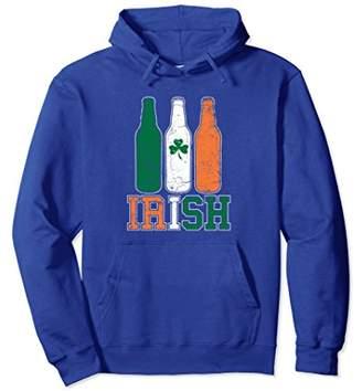 DAY Birger et Mikkelsen St Paddy's Drinking Hoodie - Vintage Irish Flag Beer