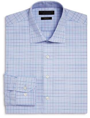 Bloomingdale's The Men's Store at Houndstooth Ground Multi Check Slim Fit Dress Shirt - 100% Exclusive