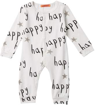 Funkyberry Happy Coverall (Baby & Toddler Girls)