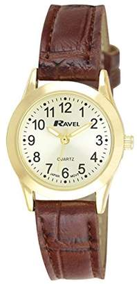 Ravel Womens Analogue Quartz Watch with PU Strap R0130.04.2