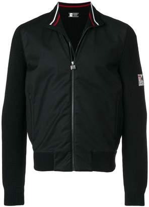 Ermenegildo Zegna zip front mock neck jacket