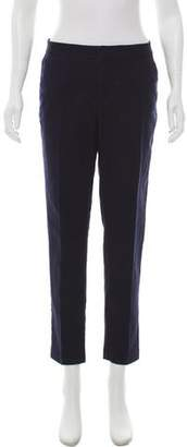 Karl Lagerfeld Paris Mid-Rise Wide-Leg Pants