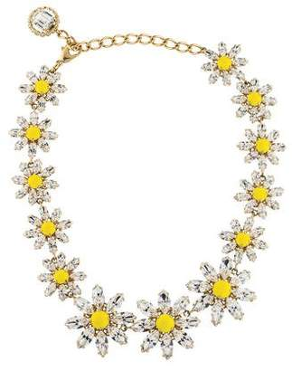 Dolce & Gabbana Crystal Daisy Collar Necklace