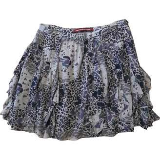Comptoir des Cotonniers Purple Silk Skirt for Women