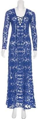 Alexis Long Sleeve Maxi Dress