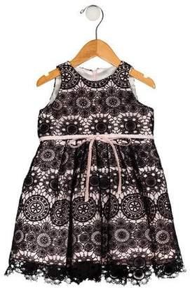 Helena Girls' Macramé Dress