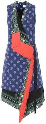 Altuzarra Bina printed cady dress