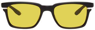 Dita Black and Gold Avec Sunglasses