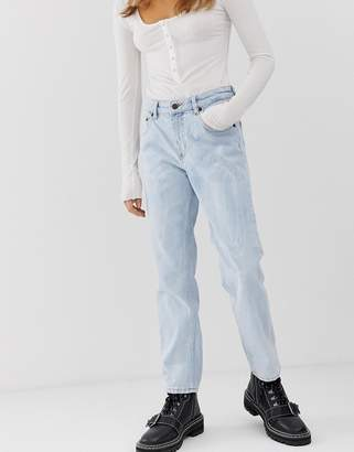 Cheap Monday mom jeans with cropped leg with organic cotton