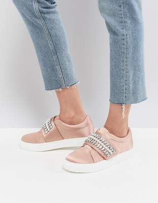 Asos Design DARLA Embellished Sneakers