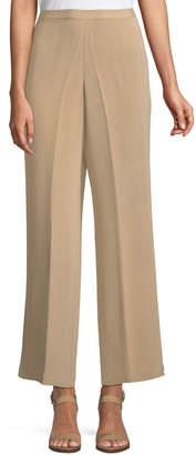 Go Silk Classic Silk Wide-Leg Pants