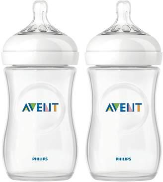 Philips Set of 2 Natural 260ml Feeding Bottles