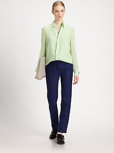 3.1 Phillip Lim Double-Layered Silk Shirt