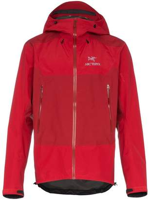 Arc'teryx Red BETA SL HYBRID Hooded Jacket
