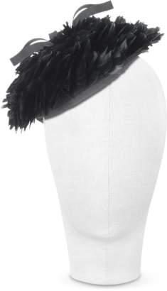 Nana Nana' Bonnie - Black 50's Feather Hat