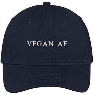 Abercrombie & Fitch Trendy Apparel Shop Vegan Embroidered 100% Cotton Adjustable Cap