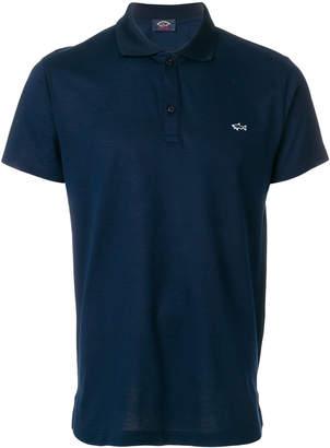 Paul & Shark logo short-sleeve polo top