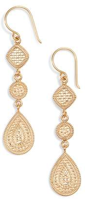 Anna Beck Two-Tone Linear Drop Earrings