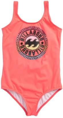 Billabong Sol Searcher One-Piece Swimsuit (Little Girls & Big Girls)
