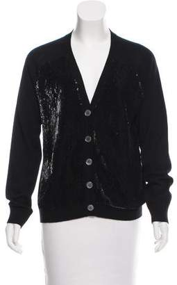 Lutz & Patmos Embellished Wool Cardigan