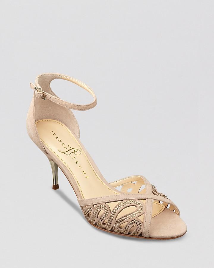 Ivanka Trump Evening Sandals - Tabbi High Heel