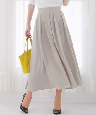 Tiaclasse (ティアクラッセ) - Tiaclasse きれい色で彩る、大人のマキシ丈フレアスカート(C)FDB