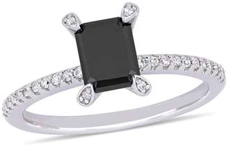 Black Diamond Concerto 10K White Gold, 1.1 CT. T.W. Diamond Ring